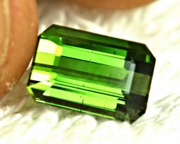 4.39 Carat Green Nigerian SI Tourmaline - Gorgeous