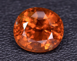 4.85 Crt Spessartite Garnet Faceted Gemstone RKS 05