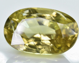 6.31 Crt Natural Zircon Faceted Gemstone ZR 1