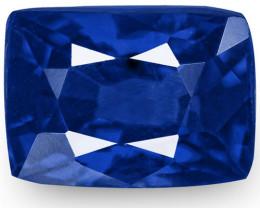GRS Certified Madagascar Blue Sapphire, 0.78 Carats, Rich Royal Blue