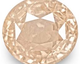 GRS Certified Sri Lanka Padparadscha Sapphire, 4.20 Carats, Oval