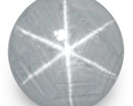 IGI Certified Sri Lanka Blue Star Sapphire, 13.82 Carats, Round