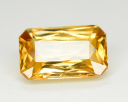 3.35 Ct Gorgeous Color Natural Yellow Zircon