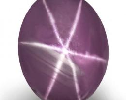 Sri Lanka Fancy Star Sapphire, 4.10 Carats, Deep Violet Oval