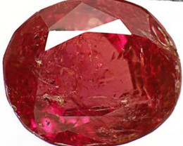 AIGS Certified India Fancy Sapphire, 4.17 Carats, Brownish Purple Oval