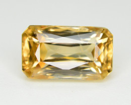 3.90 Ct Gorgeous Color Natural Yellow Zircon