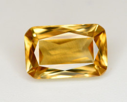 2.85 Ct Gorgeous Color Natural Yellow Zircon