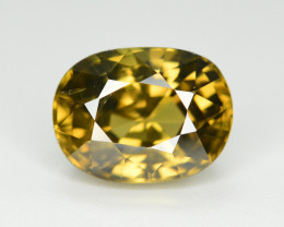 5.65 Ct Gorgeous Color Natural Yellow Zircon