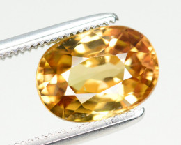 3.50 Ct Gorgeous Color Natural Yellow Zircon
