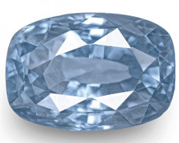 GIA Certified Sri Lanka Blue Sapphire, 6.54 Carats, Lively Blue Cushion