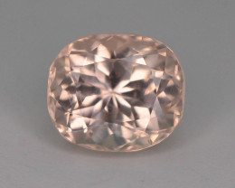 Rare 3.05 Ct Superb Peach Color Natural Imperial Topaz ~ GA