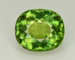 Top Quality 6.10 Ct Natural Green Apatite. ARA