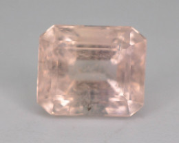 Rare 3.40 Ct Superb Peach Color Natural Imperial Topaz ~ GA