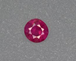 Unheated Ruby 0.705 Carats