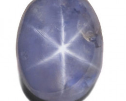 Sri Lanka Blue Star Sapphire, 1.71 Carats, Dark Blue Oval