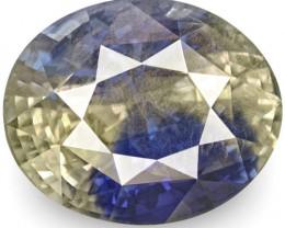 GIA Certified Sri Lanka Blue Sapphire, 16.86 Carats, Oval