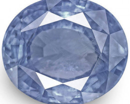 GIA Certified Sri Lanka Blue Sapphire, 9.22 Carats, Lively Intense Blue