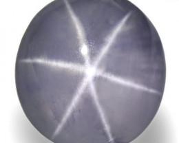 Sri Lanka Fancy Star Sapphire, 8.36 Carats, Soft Violet Oval