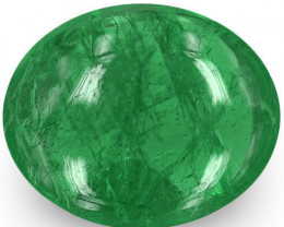 Zambia Emerald, 2.16 Carats, Deep Green Oval