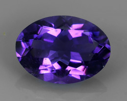 5.15 CTS NOBLE OVAL CUT PURPLE AMETHYST WONDERFUL