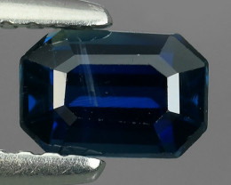 EXCLUSIVE NATURAL SOFT BLUE SAPPHIRE OCTOGON