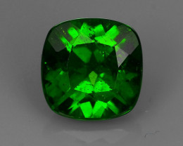 1.60 Cts MARVELOUS RARE NATURAL TOP GREEN- CHROME DIOPSIDE DAZZLING  NR!!