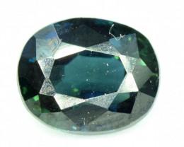 0.85 CT Teal Blue Color Sapphire Gemstone