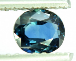 0.95 CT Transparent Blue Color Flawless Parti Sapphire