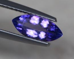 1.09ct Violet Blue Tanzanite Marquise Cut Lot V4872