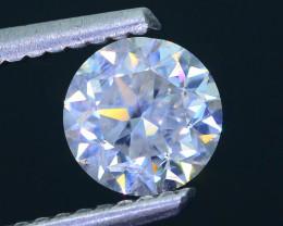 GIA Cert~1.02ct Natural white Diamond Top Sparkling