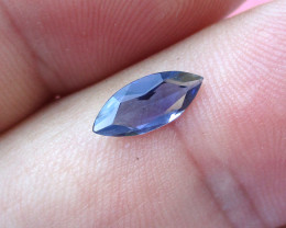 0.61cts Violetish/Blue Iolite Marquise Cut