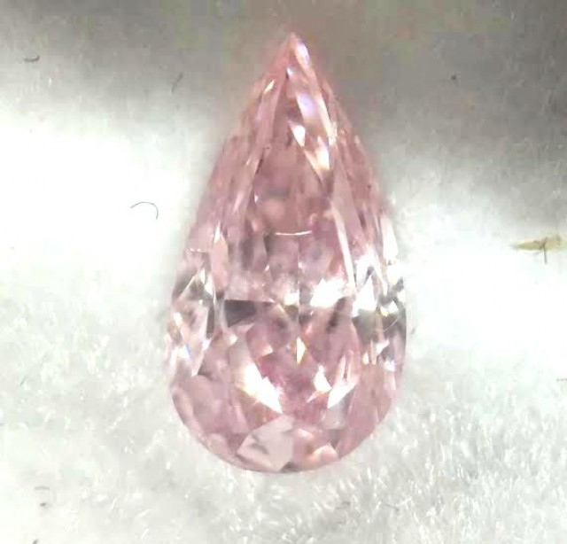 pink diamond sold at auction