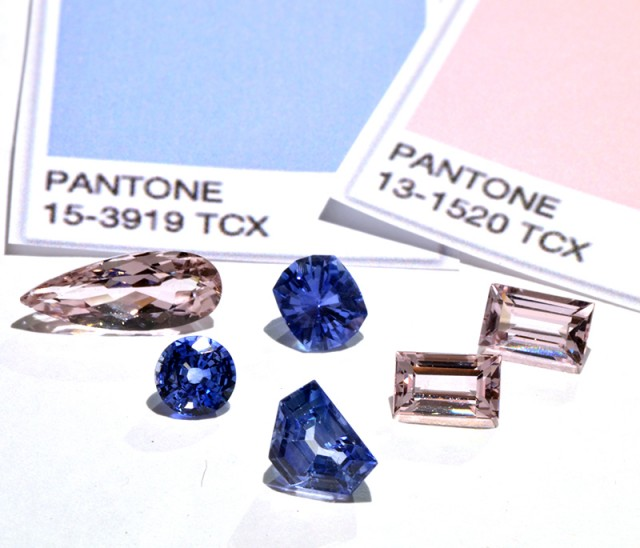 Pantone color of the year What gemstone match