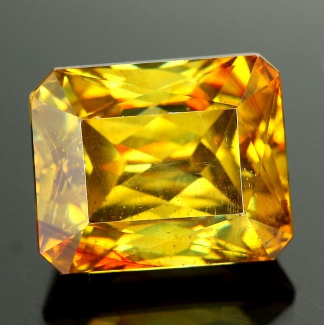 Sphalerite rare and exotic gemstone