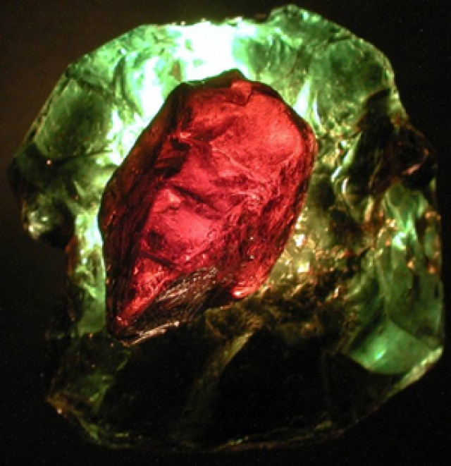 Usumbara Effect in Tourmaline