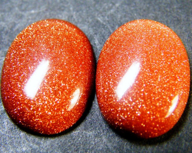 goldstone is often sold as sunstone It is a man made imitation