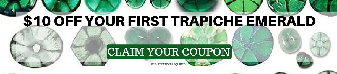 DISCOUNT ON ANY TRAPICHE EMERALD
