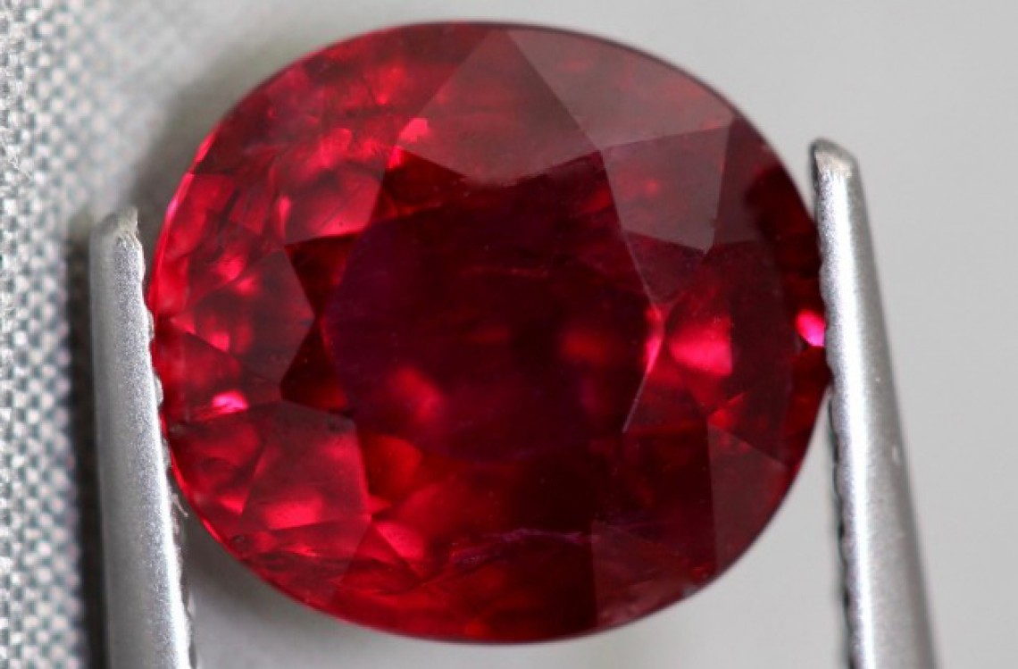 Red Ruby july birthstone