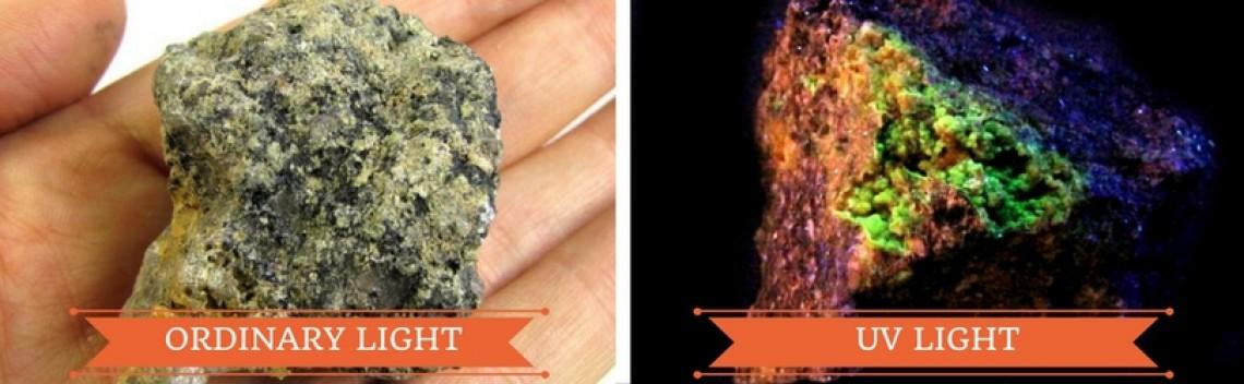 Fluorescent Minerals - Rocks That Glow