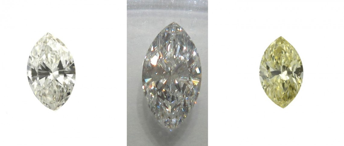 marquise diamonds of all shapes and sizes