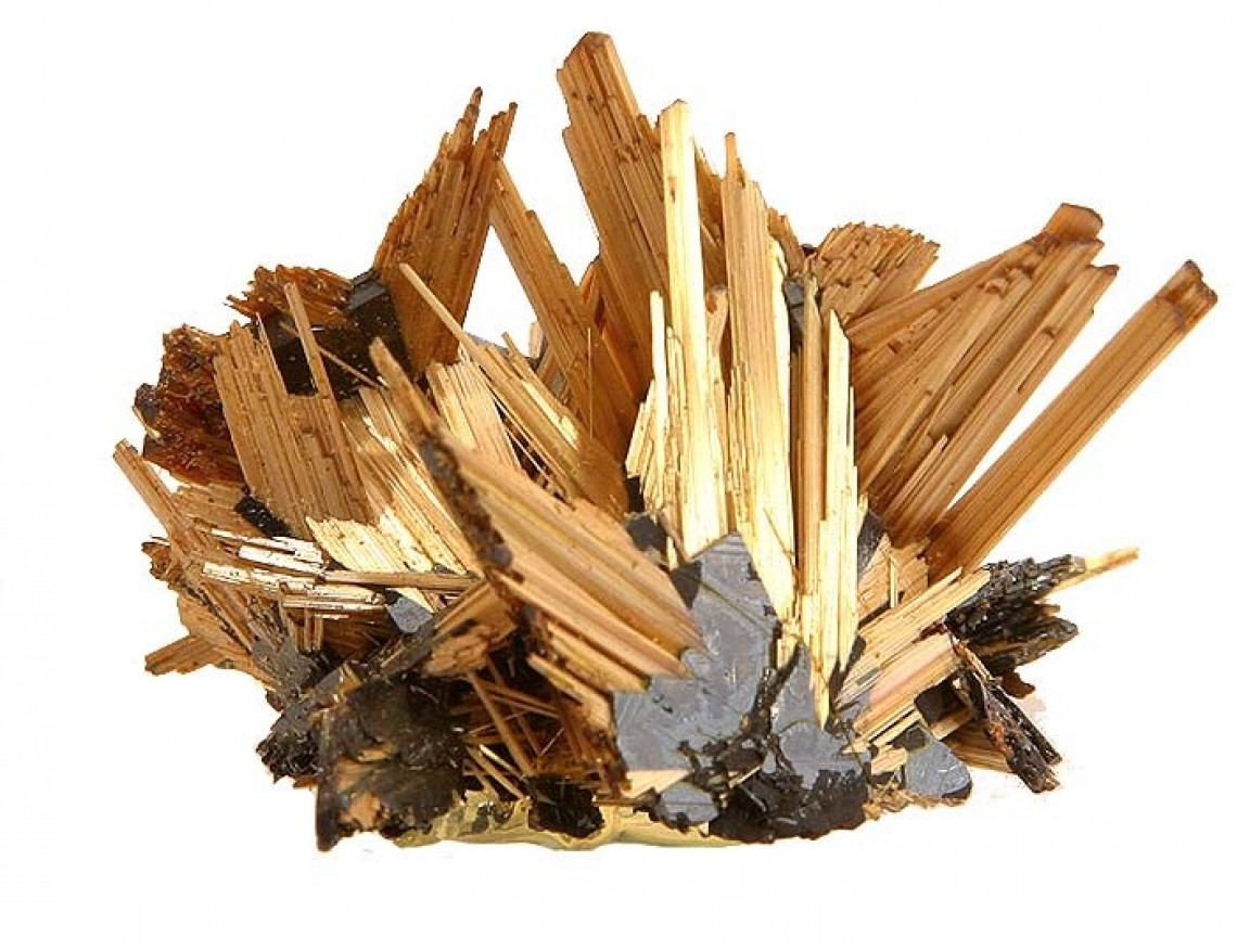 rutile in its natural form