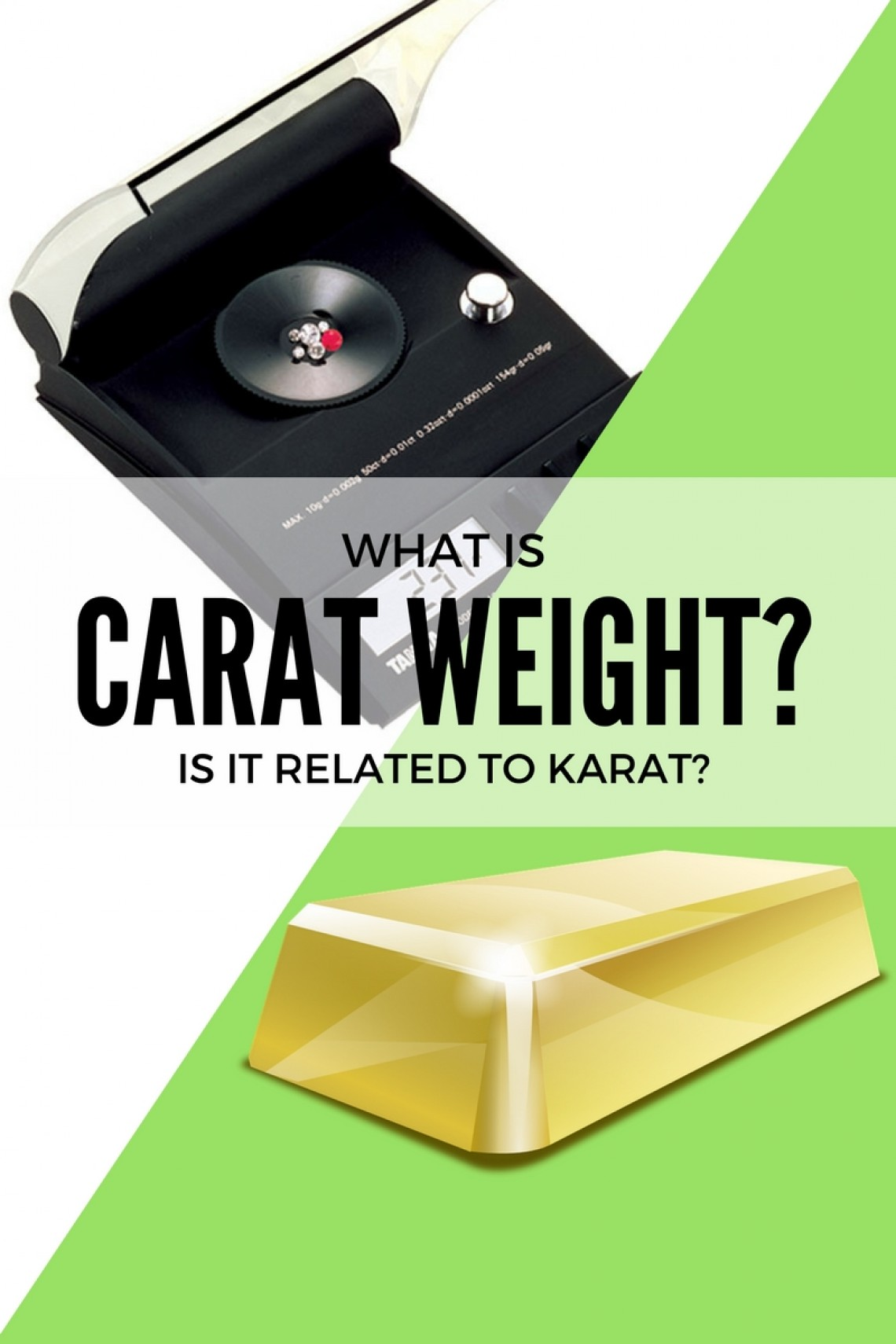 What is a Carat And Is It Related To Karat