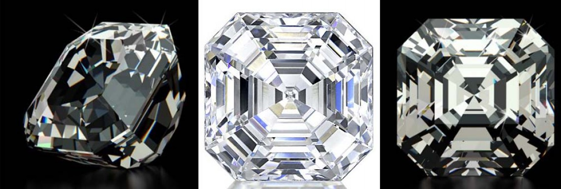 what is special about the asscher cut diamond