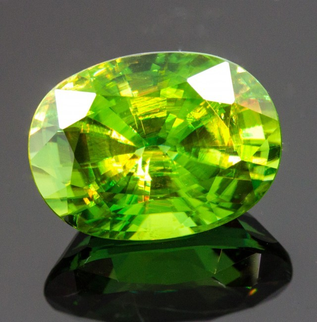 green gemstone bhp ebay pale garnet