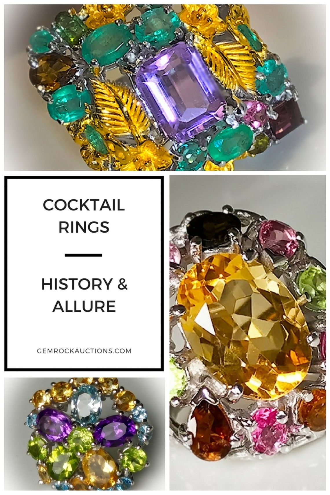 Cocktail Rings - History and Allure
