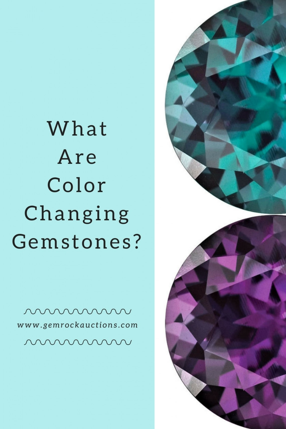 Colour Changing Gemstones
