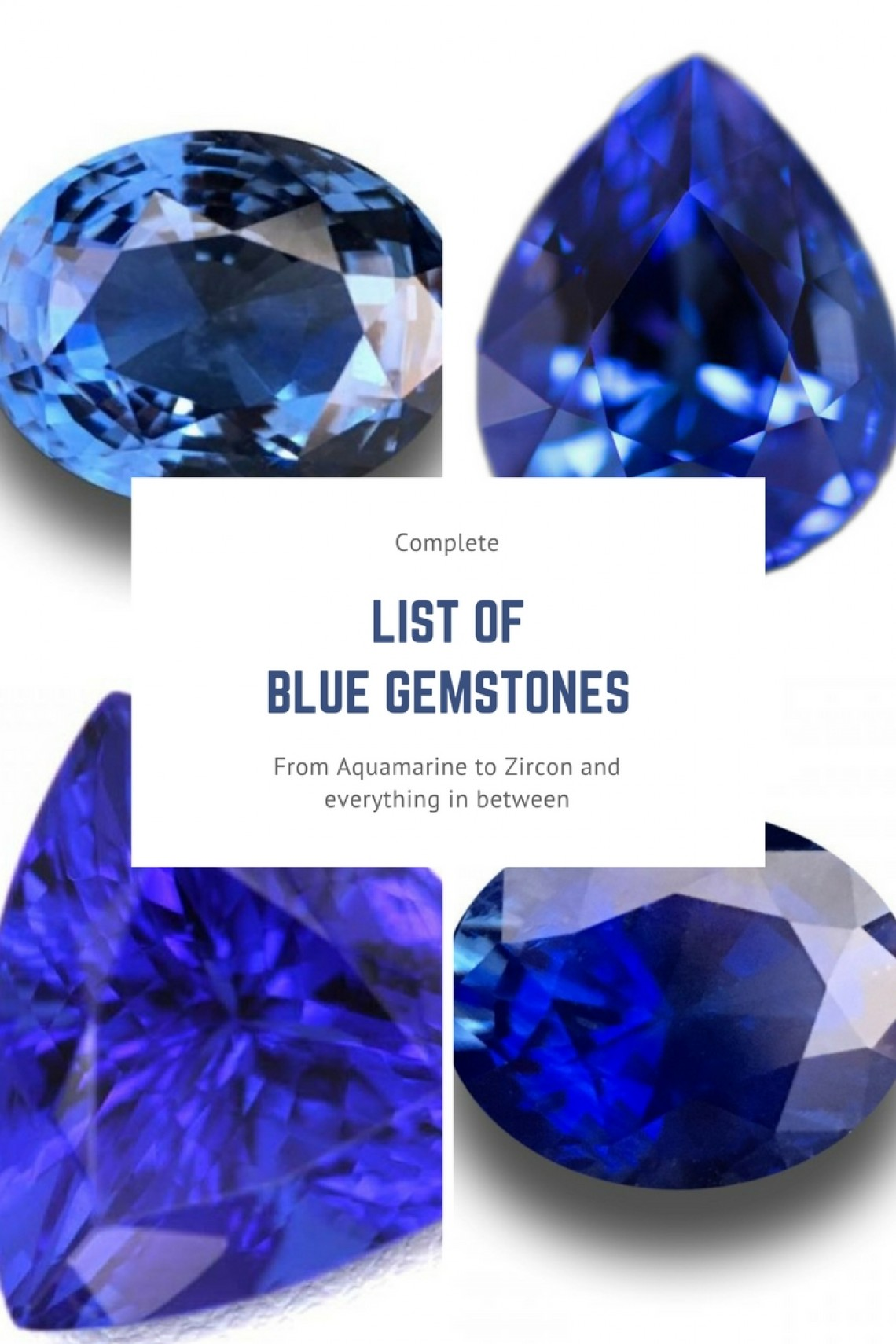 List Of Blue Gemstones [List With Examples] | Gem Rock Auctions