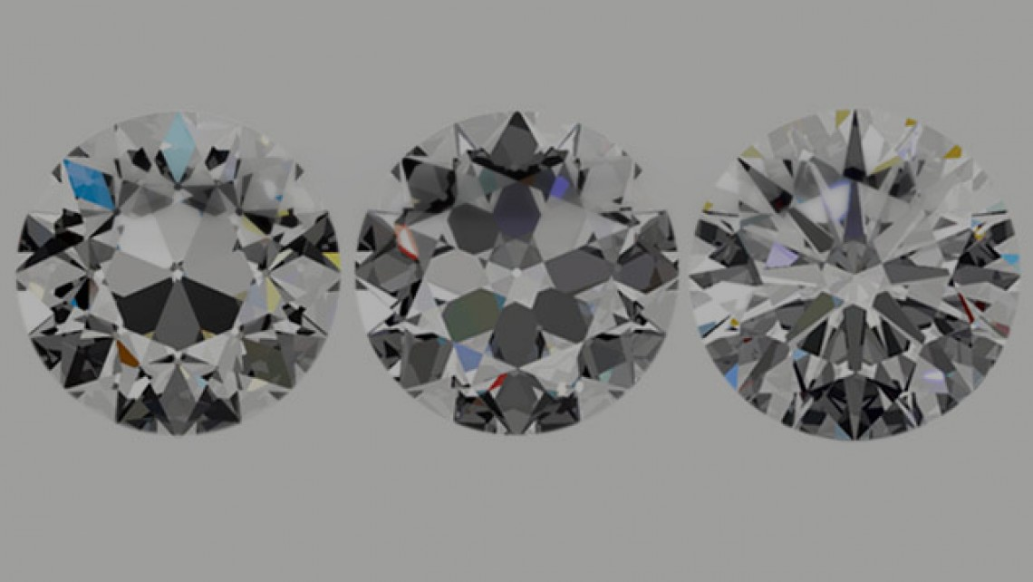 evolution of the round brilliant cut diamond