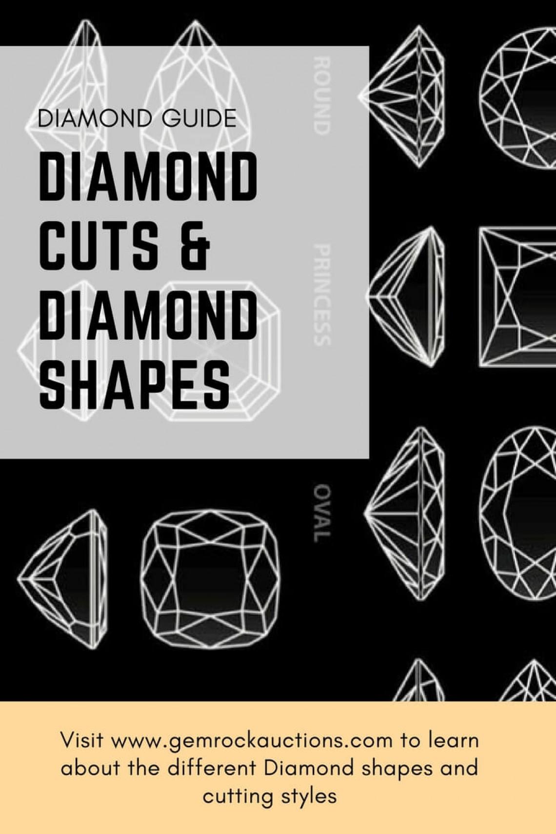 Diamond Cuts and Diamond Shapes
