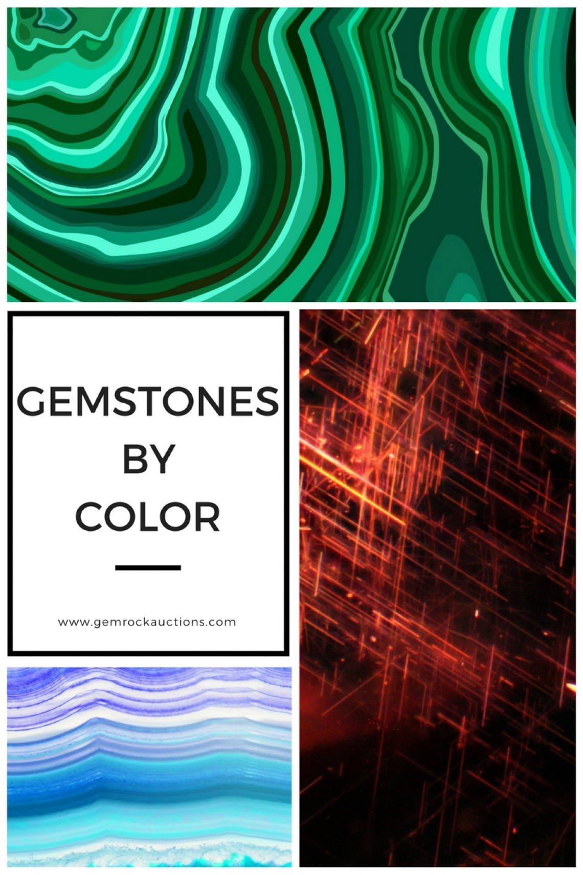 Gemstone Colors - List Of Gemstones By Color | Gem Rock Auctions